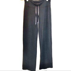 Lulu lemon flare yoga pants. Gently used. Grey